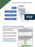 Prozessfähigkeit - Maschinenfähigkeit - Nachweis