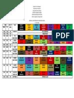 CLASS 2019-2020 PROGRAM GENERAL