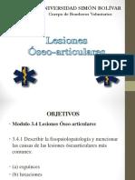 3.4 Lesiones Óseoarticulares JB170