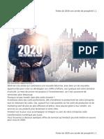 Faites de 2020 Une Année de Prospérité
