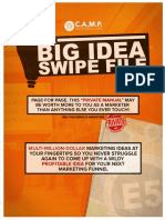 Big Idea SwipeFile - **do not sell this