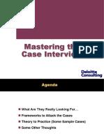 Delloitte Case Frameworks.ppt