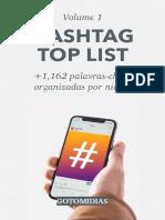Hashtag Top list VOL 1 - +1,160 palavras-chave organizadas por nicho.pdf