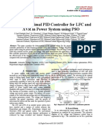 Design of Optimal PID Controller for LFC And