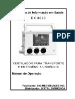 ANEXO IIIB_MANUAL OPERAÇÃO DX 3023