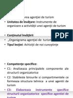 Plan de lectie-Organigrama unei agentii de turism.ppt