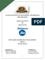 bhavya reliance jio