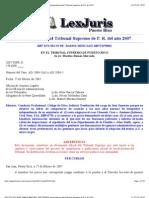 RAMOS MERCADO 2007TSPR032 Jurisprudencia Del Tribunal Supremo de P.R. de 2007