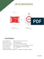 NAZA-M Lite 1.1. GPS(DATASHEET)