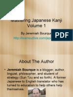 Mastering Japanese Kanji Volume 1.pdf