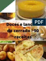 Doces e Lanches Do Cerrado - 50 Receitas