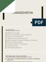ANNADHAATHA(SAMASYA)