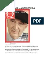 Mihai Nadin - Civilizaţia analfabetismului