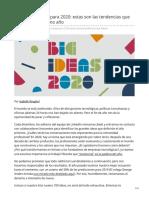 linkedin.com-20 Grandes Ideas para 2020 estas son las tendencias que definirán el próximo año