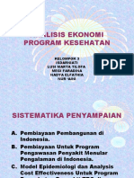 Analisis Ekonomi Program Kesehatan