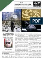 The 'X' Chronicles Newspaper - November 2010
