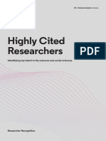 Highly Cited Researchers 2019 Executive Summary