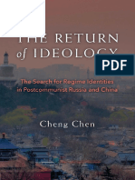 Cheng Chen - The Return of Ideology_ The Search for Regime Identities in Postcommunist Russia and China-University of Michigan Press (2016).pdf
