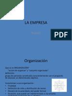 repaso organizaciones