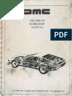 De Lorean DMC Service Manual