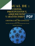 Manual de costos Cristobal del Rio