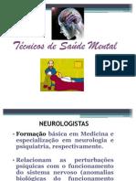 Técnicos de saúde mental