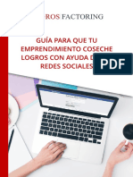 Guía para que tu emprendimiento coseche Logros con ayuda de las redes sociales