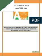 Recueil Des Textes - UEMOA