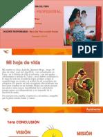 PPT para sustentación de Proyecto de Vida