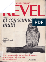 La necesidad de ideología - Jean-Francois Revel.pdf