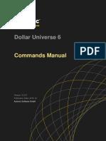 Dollar Universe Command Manual v6.5