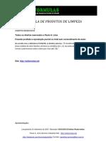 APOSTILA PRODUTOS DE LIMPEZA
