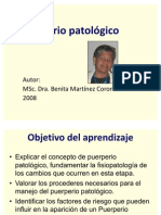 Ppt Puerperio Patologico