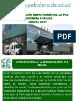 RENDICIÓN DE CUENTAS INICIAL 2017 DR. Simon A. araoz
