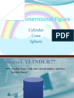 Cylinder, Cone, And Sphere (Combination From Some Book Review)