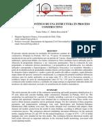 MONITOREO CONTINUO DE UNA ESTRUCTURA EN PROCESO CONSTRUCTIVO