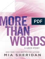 More Than Words - Mia Sheridan