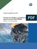 534-El Motor de 3 Cilindros y 1 4 l TDI de La Gama de Motores Diésel EA288