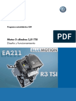 539-Motor 3 Cilindros 1 0 l TSI
