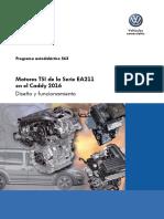 563-Motores TSI de La Serie EA211 en El Caddy 2016