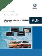 562-Infotainment y Car-Net en El T6 2016 y Caddy 2016