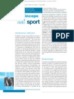 sincope e sport, 2009