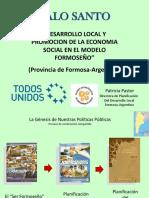 PALO SANTO DESARROLLO LOCAL Y Economía Social