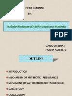 Antibiotic Resistance Mechanism
