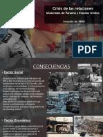 RELACIONES DE PANAMÁ Y ESTADOS UNIDOS PPT RESUMEN