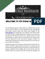 Hotels Massage Dubai