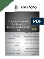 PROYECTO FINAL- El Rol del Contador Publico en la Contabilidad del S. XXI.pdf