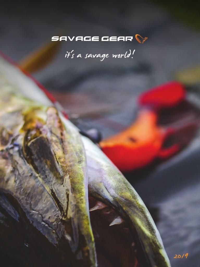 SAVAGE GEAR 1+4+4 NARROW PREY PLUG LURE BOX KIT WIRE TRACES PIKE ZANDER FISHING
