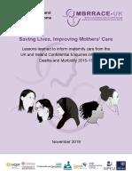 MBRRACE-UK Maternal Report 2019 - WEB VERSION (1)
