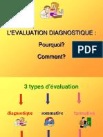 3. Evaluation Diagnostique
